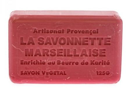 Marsylskie mydło w kostce Kocham cię - Foufour Savonnette Marseillaise I Love You — фото N2