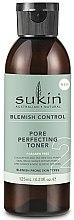 Kup Tonik do twarzy minimalizujący pory - Sukin Blemish Control Pore Perfecting Toner