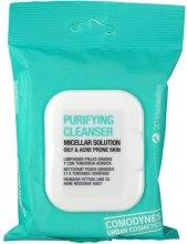 Kup Oczyszczające chusteczki micelarne do skóry tłustej i trądzikowej - Comodynes Purifying Cleanser Oily & Acne Prone Skin