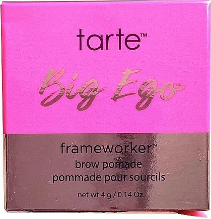 Pomada do brwi - Tarte Cosmetics Big Ego Frameworker Brow Pomade — фото N4