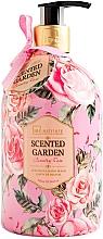 Kup Mydło do rąk w płynie Róża - IDC Institute Scented Garden Hand Wash Country Rose