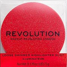 Kup Rozświetlacz do twarzy - Makeup Revolution Shimmer Dust
