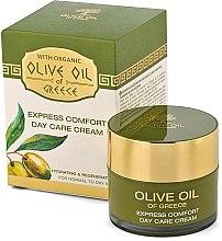 Krem do twarzy na dzień przynoszący natychmiastową ulgę - BioFresh Olive Oil Of Greece Express Comfort Day Care Cream — фото N1