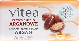Kup Kremowe mydło arganowe z d-panthenolem - Vitea Cream Argan Soap
