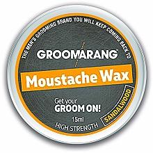 Kup Wosk do wąsów i brwi Drzewo sandałowe - Groomarang Moustache & Beard Wax Extra Strong Sandalwood