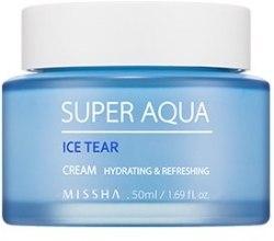 Kup Nawilżający krem na bazie wody z lodowca - Missha Super Aqua Ice Tear Cream