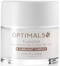 Kup Krem do twarzy na dzień przeciw plamom pigmentacyjnym SPF 20 - Oriflame Optimals Even Out Preventing Day Cream