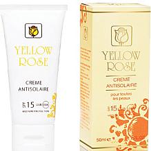 Kup Krem przeciwsłoneczny SPF15 - Yellow Rose Creme Antisolaire SPF 15
