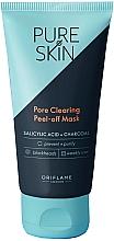 Kup Oczyszczająca maska peel-off z węglem - Oriflame Pure Skin Pore Clearing Peel-off Mask