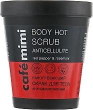 Kup Rozgrzewający antycellulitowy peeling do ciała - Café Mimi Body Hot Scrub Anticellulite