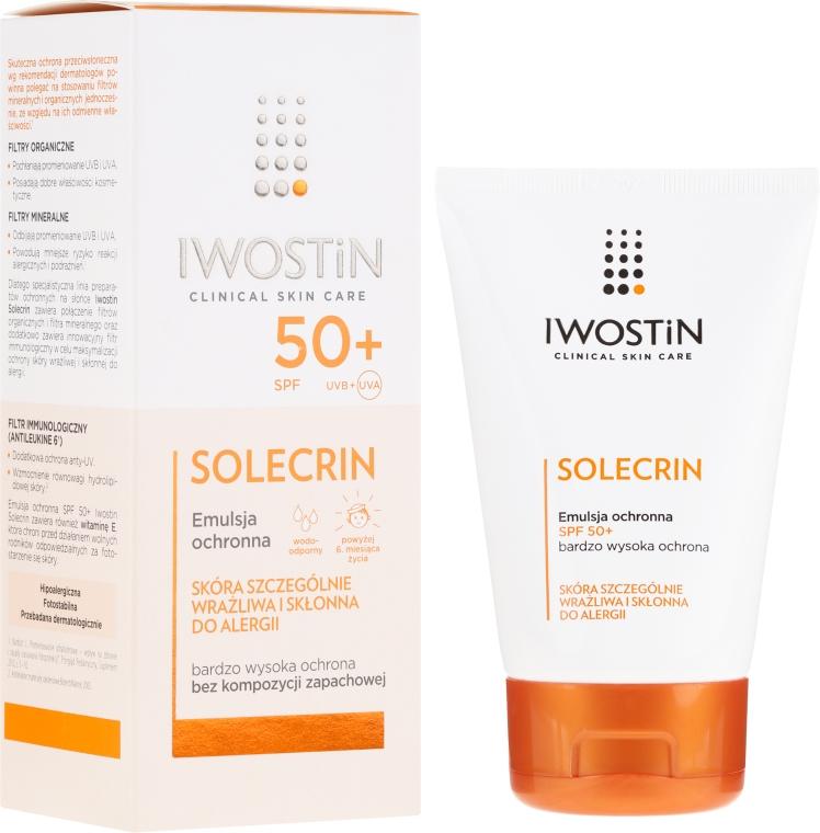 Emulsja ochronna SPF 50+ - Iwostin Solecrin Emulsion SPF50+