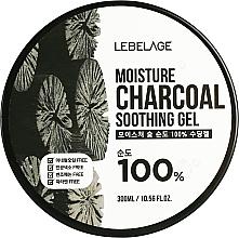 Kup Żel nawilżający z węglem drzewnym - Lebelage Moisture Charcoal 100% Soothing Gel