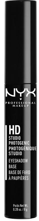 Baza pod cienie do powiek - NYX Professional Makeup High Definition Eye Shadow Base — фото N1