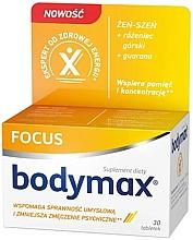 Kup Suplement diety wspomagający koncentrację i funkcjonowanie układu nerwowego - Orkla Bodymax Focus