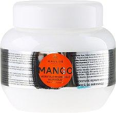 Kup Nawilżająca maska naprawcza do włosów z olejem z mango - Kallos Cosmetics Mango Hair Mask