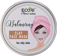 Kup Balansująca glinkowa maska do twarzy do cery tłustej - Eco U Balancing Clay Face Mask For Oily Skin