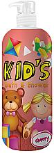 Kup PRZECENA! Żel pod prysznic i do kąpieli dla dzieci - Hegron Kid's Cherry Bath & Shower *