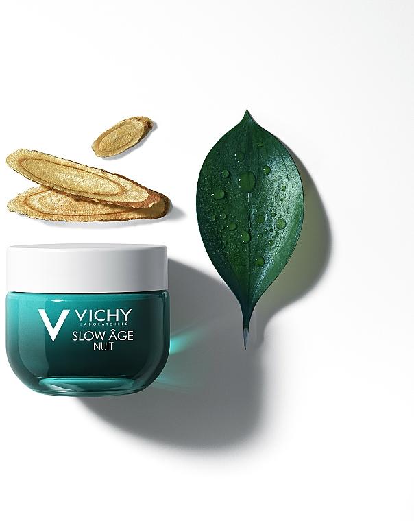 Krem i maska do twarzy na noc Dotlenienie i regeneracja - Vichy Slow Âge Night Cream & Mask — фото N4