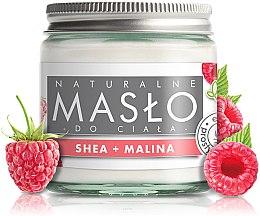 Kup Naturalne masło do ciała Shea i malina - E-Fiore