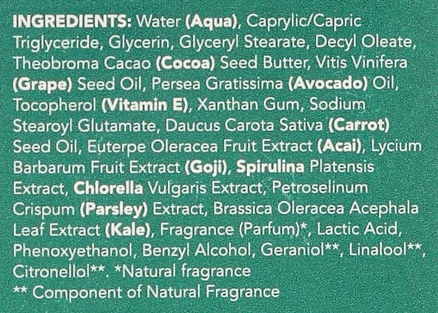 Regenerujące serum do twarzy - Sukin Super Greens Facial Recovery Serum — фото N4