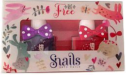 Kup Zestaw lakierów do paznokci dla dzieci 2x10,5ml - Snails Mini Bebe Be Free