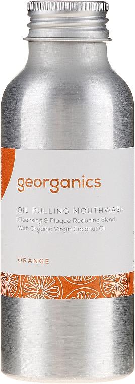 Płyn do płukania jamy ustnej - Georganics Red Mandarin Mouthwash — фото N2