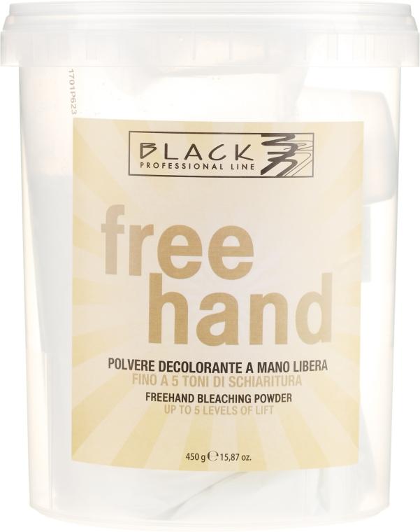 Proszek do rozjaśniania włosów - Black Professional Line Bleaching Powder For Free-Hand — фото N1