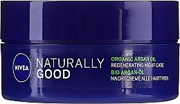 Kup Rewitalizujący krem na noc do wszystkich rodzajów skóry - Nivea Naturally Good Night Regeneration Care