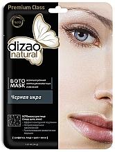 Kup Maseczka do twarzy i na szyję Czarny kawior - Dizao Natural