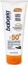 Kup Aloesowy krem przeciwsłoneczny do twarzy SPF 50+ - Babaria Aloe Vera Facial Sun Cream