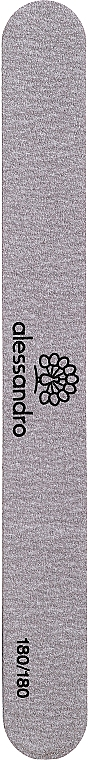 Pilnik do paznokci 180/180 - Alessandro International High Speed File Straight — фото N1