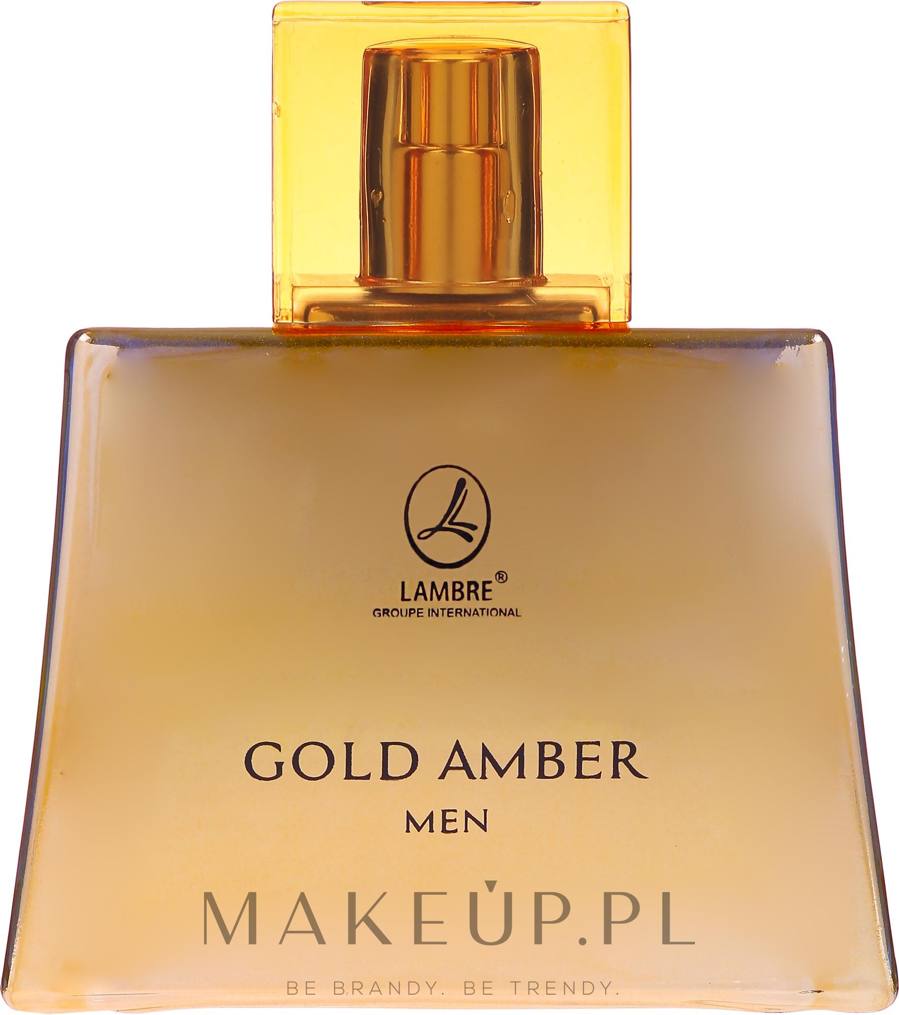lambre gold amber men