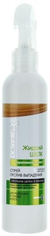 Spray przeciw wypadaniu włosów Wzmocnienie i wzrost - Dr. Sante Silk Care Spray — фото N1