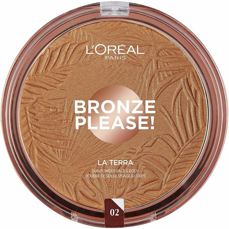 Bronzer do twarzy - L'Oréal Paris La Terra Joli Bronze Bronzer
