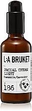 Kup Lekki krem do twarzy z rumiankiem i lawendą - L:A Bruket No. 186 Facial Cream Light Chamomile/ Lavender
