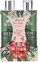 Kup Zestaw - Ayumi Neems & Tea Tree (b/lot/250ml + sh/gel/250ml)