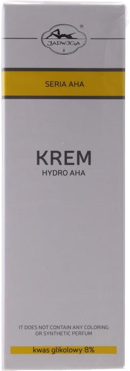 Krem Hydro AHA z kwasem glikolowym 8% - Jadwiga Seria AHA