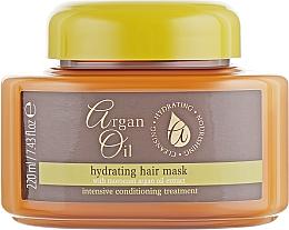 Kup Nawilżająca maska do włosów z olejem arganowym - Xpel Marketing Ltd Argan Oil Heat Hair Mask