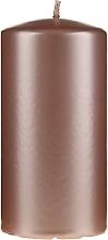 Kup Perłowa świeca dekoracyjna, różowozłota, 14 cm - Artman Opal Candle