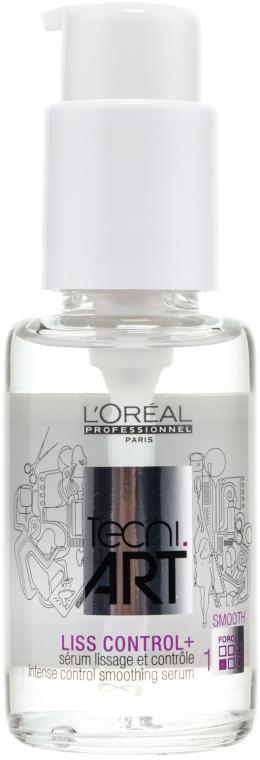 Wygładzająco-dyscyplinujące serum do włosów - L'Oreal Professionnel Tecni.art Liss Control Plus