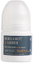 Kup Bath House Bergamot & Amber - Dezodorant w kulce dla mężczyzn Bergamotka i bursztyn