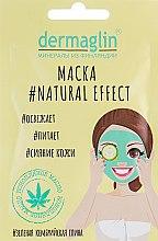 Kup Odświeżająca maseczka do twarzy z zieloną glinką kambryjską - Dermaglin #Natural Effect