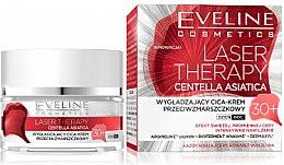 Kup Wygładzający cica-krem przeciwzmarszczkowy 30+ - Eveline Cosmetics Laser Therapy Centella Asiatica