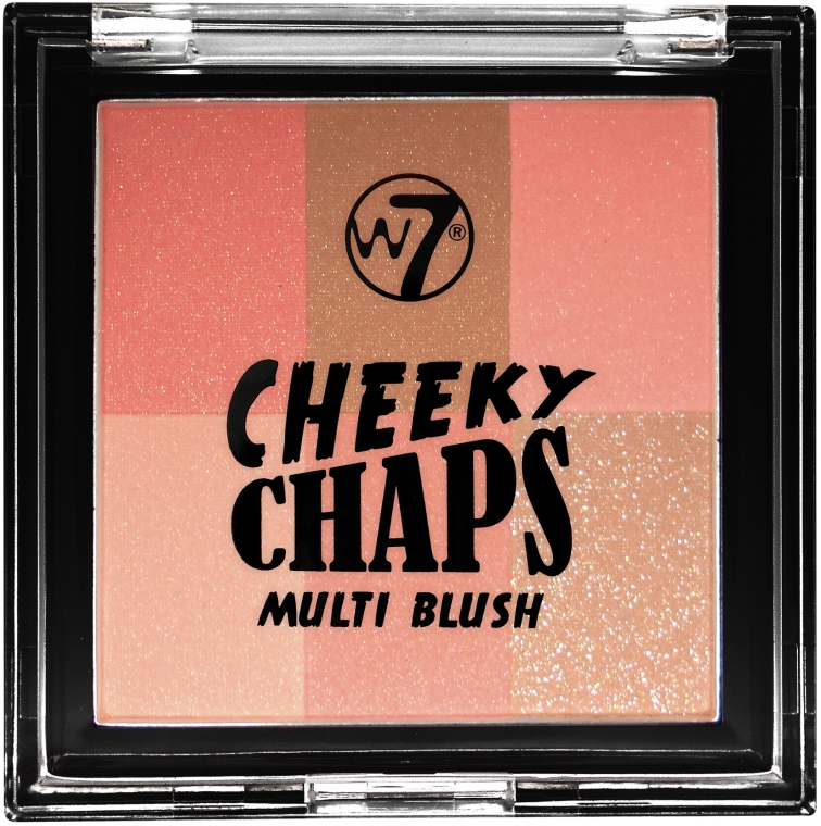 Róż do policzków - W7 Cheeky Chaps Multi Blush