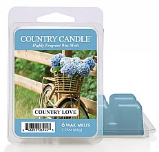 Kup Wosk zapachowy - Country Candle Country Love Wax Melts