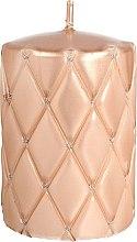 Kup Świeca dekoracyjna, 7 x 10 cm, różowozłota - Artman Florencja