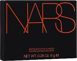Kup Matowy bronzer do twarzy - Nars Matte Bronzing Powder