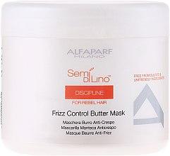 Kup Maska do niesfornych włosów - Alfaparf Semi di Lino Discipline Frizz Control Butter Mask