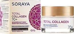Kup Regenerujący krem na dzień i noc Reduktor zmarszczek 70+ - Soraya Total Collagen