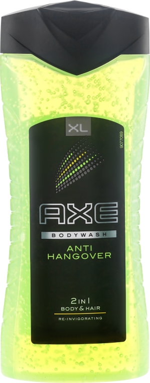 Żel pod prysznic 2 w 1 dla mężczyzn - Axe Anti-Hangover Shower Gel 2in1